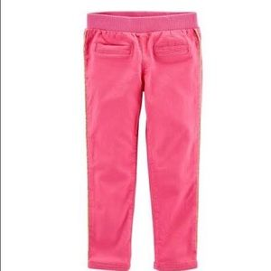 Baby Girl's Carter's Solid Twill Pants